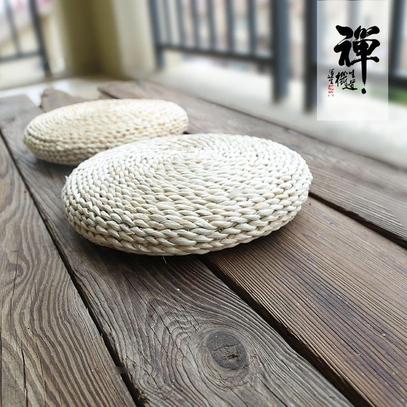Japanese Style Tatami Futon Straw Tea Ceremony Yoga Mat Zen Buddhist Prayer Room Prayer Mat Chinese Culture Genuflect Pad Meditation da zuo dian