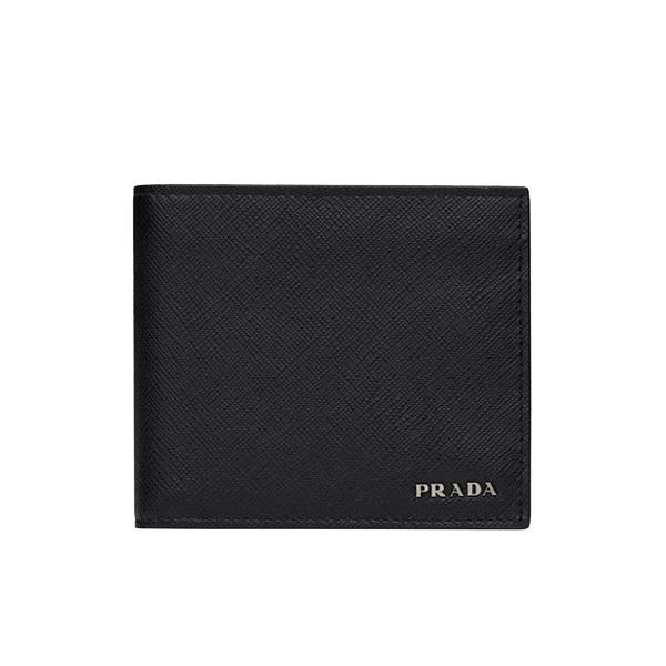 127ebb6a9b27 NEW ARRIVAL PRADA Men's Bifold Wallet With Coin Compartment In Saffiano  Leather 2MO738 In Prada Box