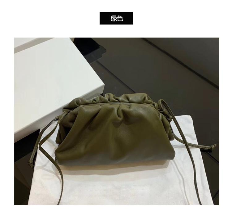 2019 New Style A Xi Brother Celebrity Style Cloud Package Soft Womens Leather Bags Small CK Crossbody Bag Dumplings Clutch