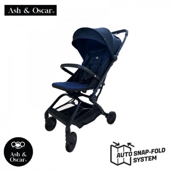 Ash & Oscar POP Auto Fold Stroller - Blue Singapore