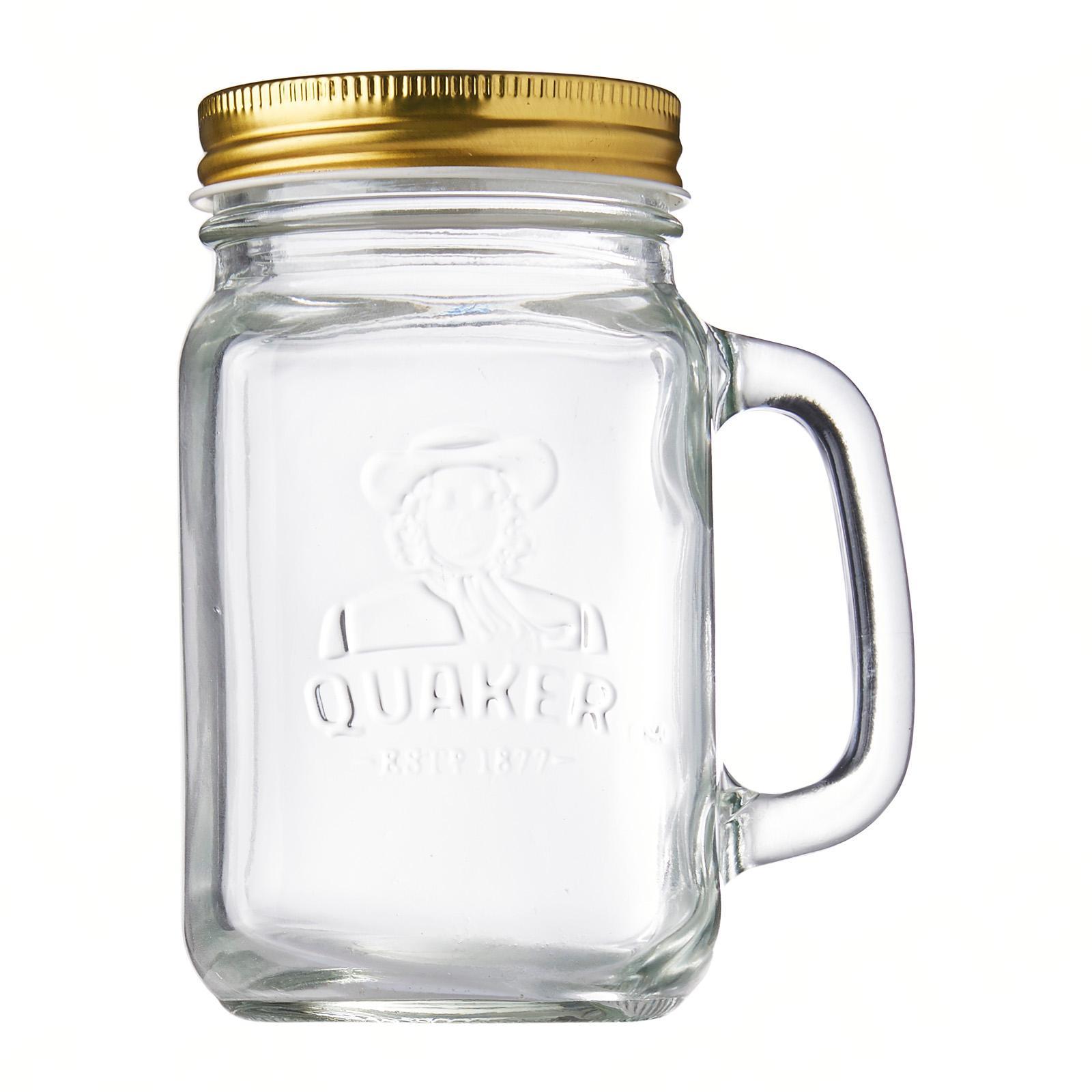 QUAKER Mason Jar (Gift with Purchase)