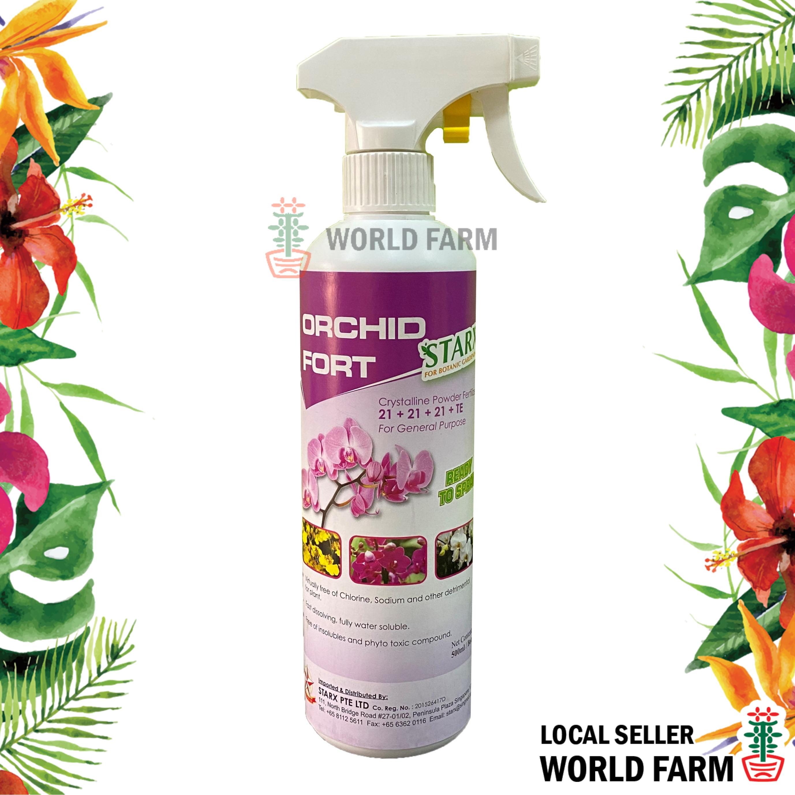 Orchid Fort General Purpose Orchid Fertiliser / Fertilizer Spray 500ml