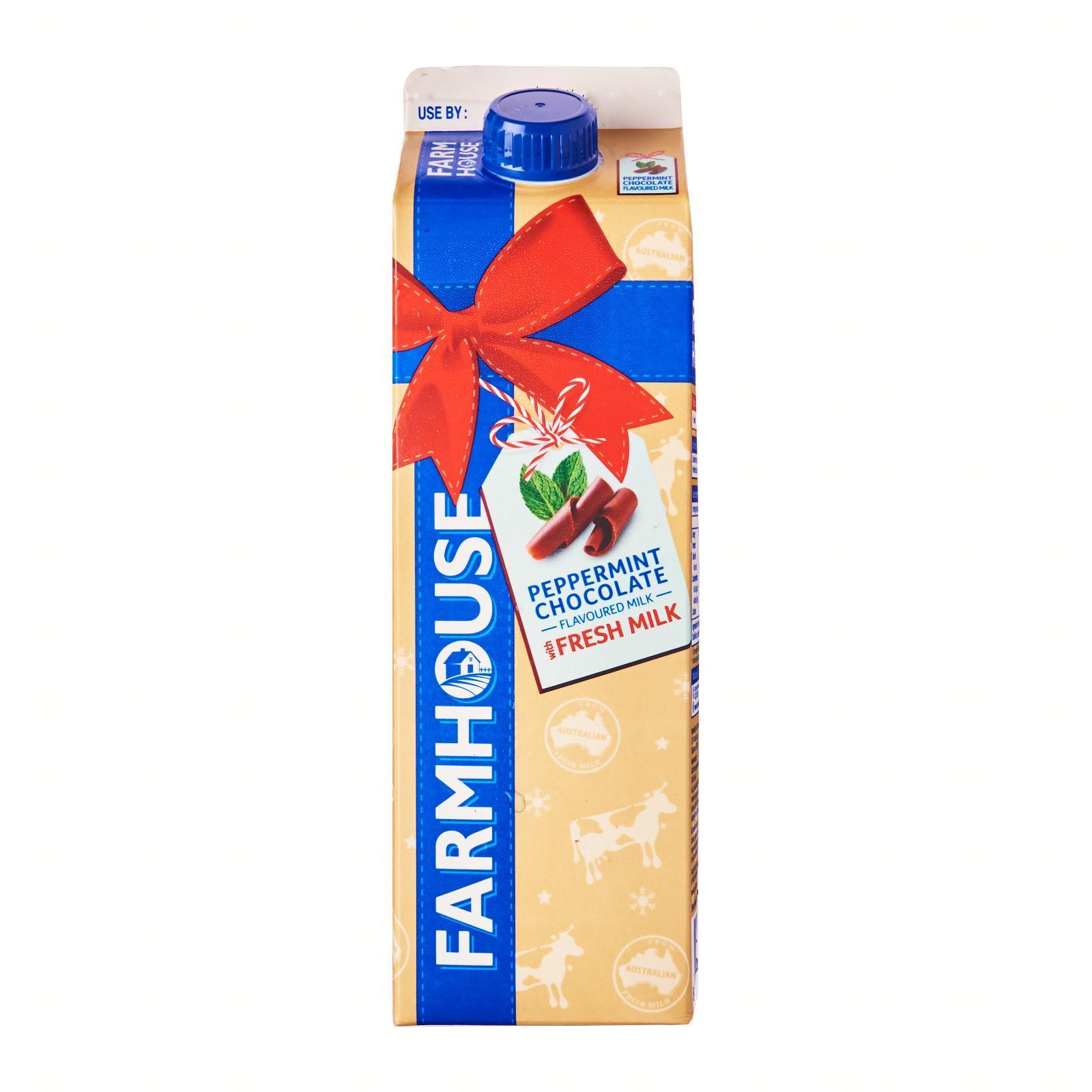 Farmhouse Peppermint Chocolate Flavoured Milk - Christmas Special