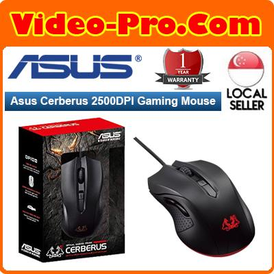 Asus Cerberus 5 Buttons 2500 Dpi Gaming Mouse