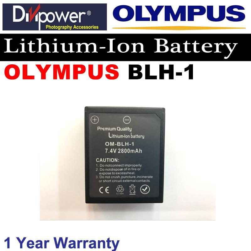 Olympus Blh-1 Lithium-Ion Battery For Olympus Camera By Divipower.