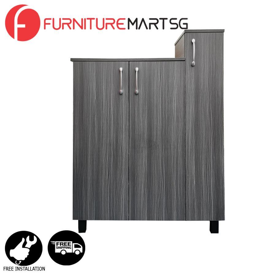 [FurnitureMartSG] Ecco Shoe Cabinet_FREE DELIVERY + FREE INSTALLATION