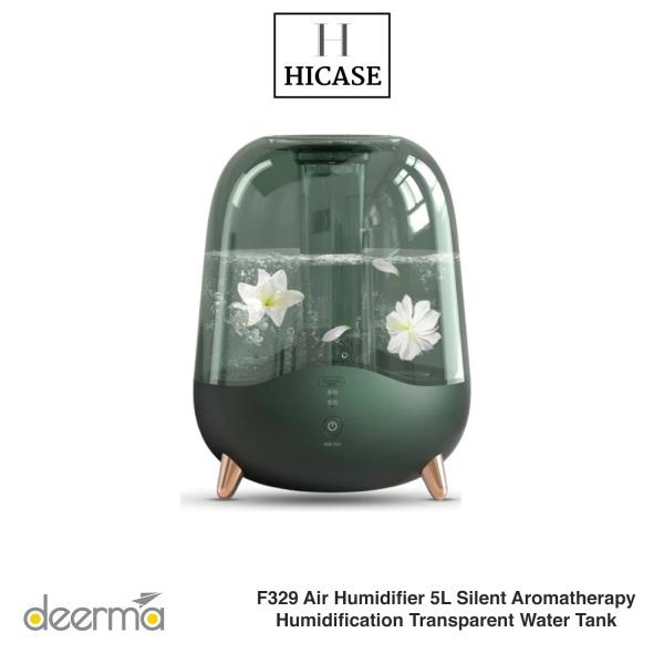 Xiaomi Deerma F329 Air Humidifier 5L Silent Aromatherapy Humidification Transparent Water Tank Singapore