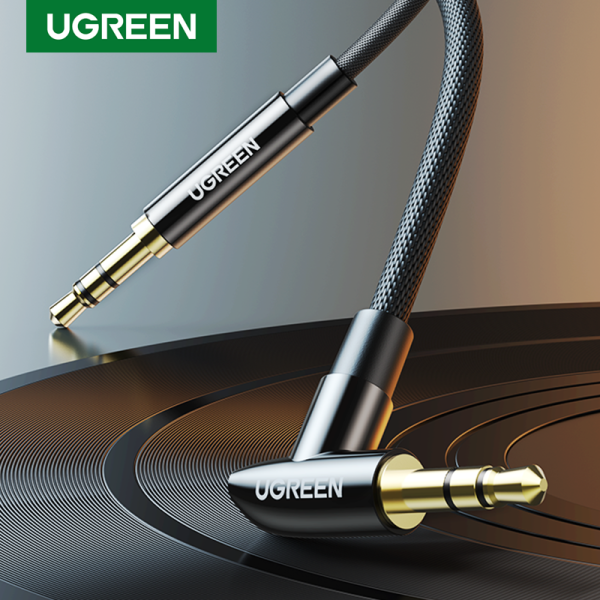 UGREEN 3.5mm Audio AUX Cable Nylon Braided Aux Cord Male to Male Stereo Hi-Fi Sound Auxiliary Audio Cable for Car Singapore