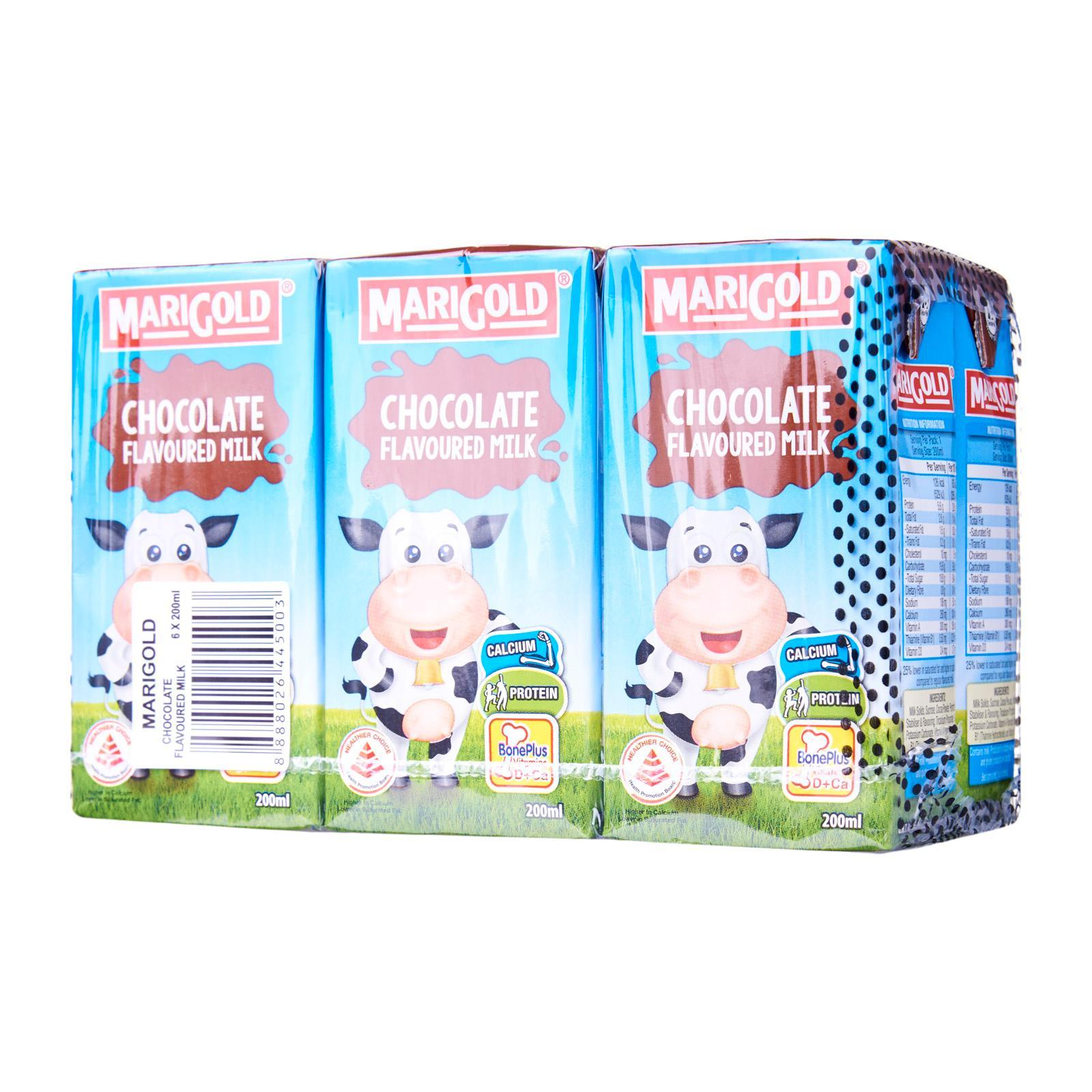 Marigold Chocolate Uht Milk By Redmart.