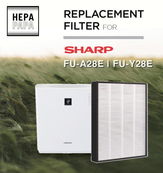 Replacement Filter for Sharp FU-A28/Y28E [Free Alcohol Swab] [SG Seller] [7 Days Warranty] Singapore