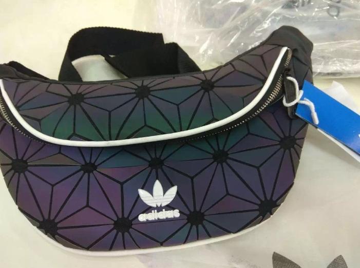 adidas waist issey miyake bag rainbow