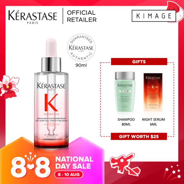 Buy [8.8 Promo] Kerastase Genesis Serum Fortifiant Fortifying Serum With Anti-Hair Fall and Hair Strengthening Control Singapore