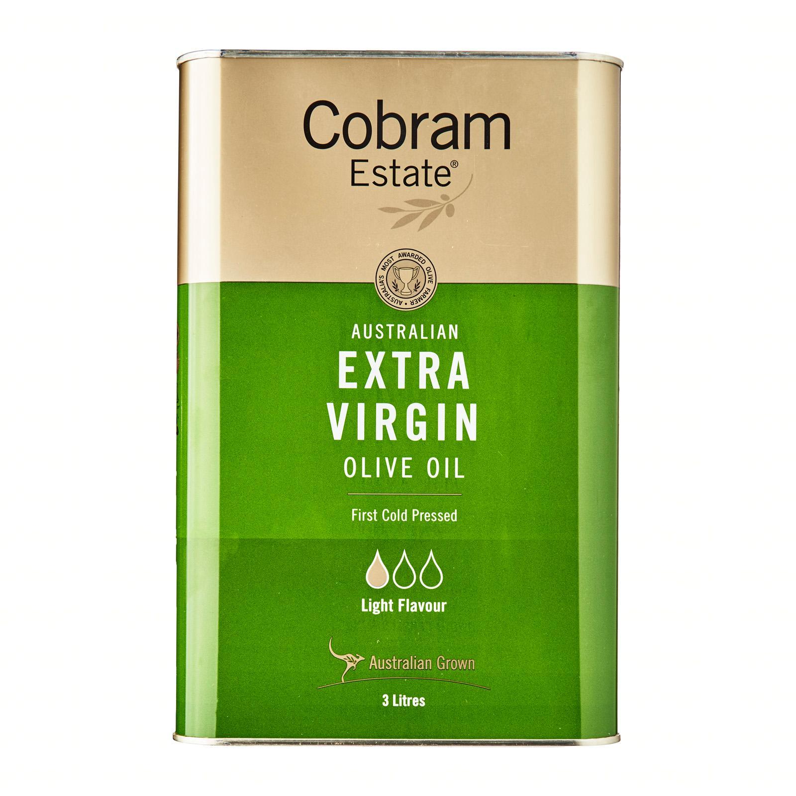 Cobram Estate Australian Extra Virgin Light Olive Oil - 3 L By Redmart.