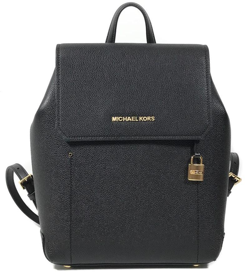 492e99b286ae Michael Kors Hayes Medium Backpack Black # 35F8GYEB2T + Gift Receipt