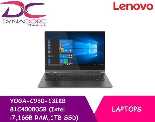 Lenovo YOGA-C930-13IKB 81C40080SB (Intel i7,16GB RAM,1TB SSD)
