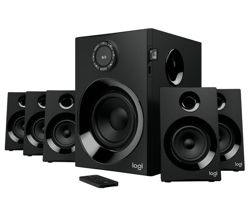Logitech Z607 5.1 Surround Sound Speaker System (160W) Singapore