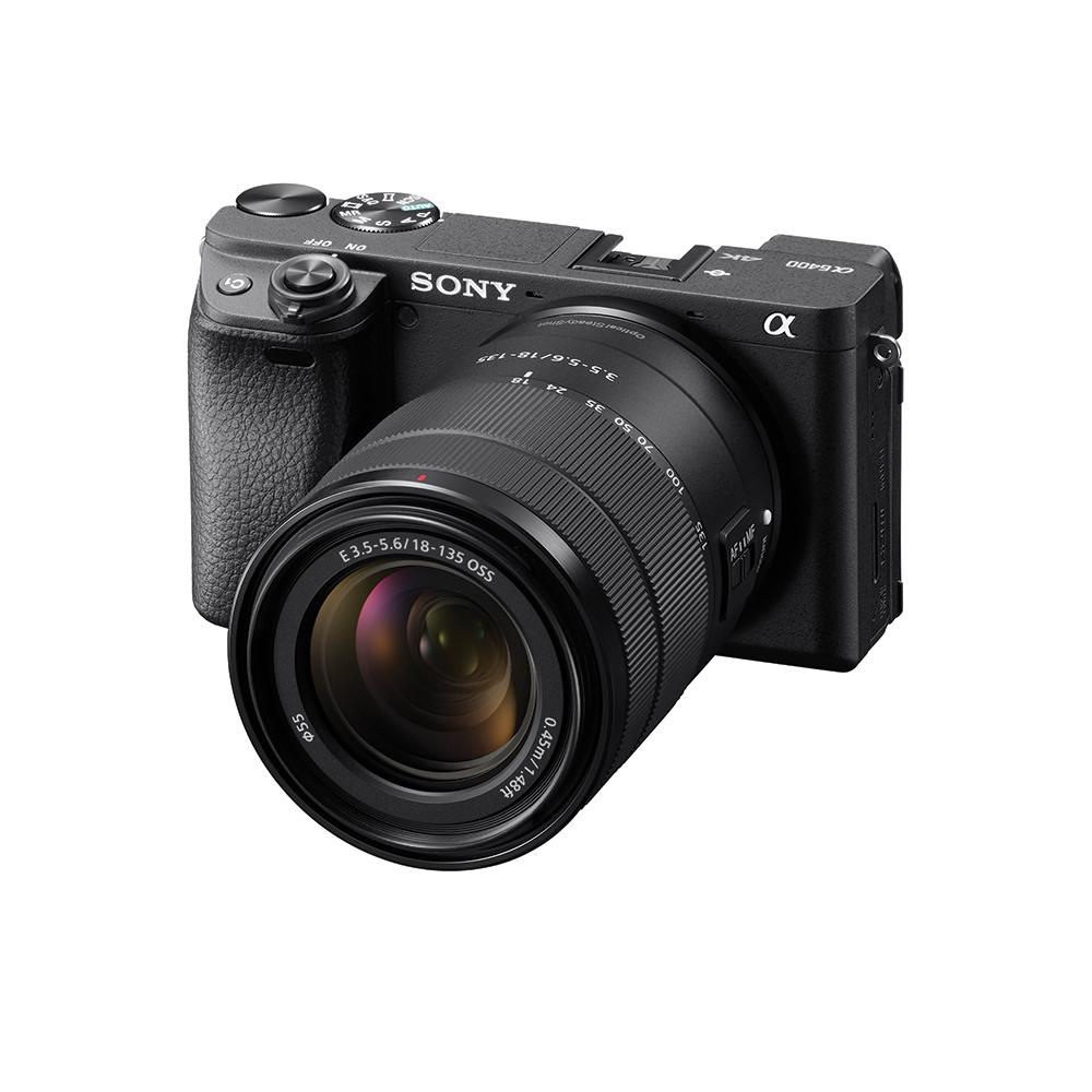 Sony Singapore α6400 E-Mount Camera With Aps-C Sensor With 18-135mm Zoom Kit Lens (black) By Sony Electronics Singapore Pte Ltd.