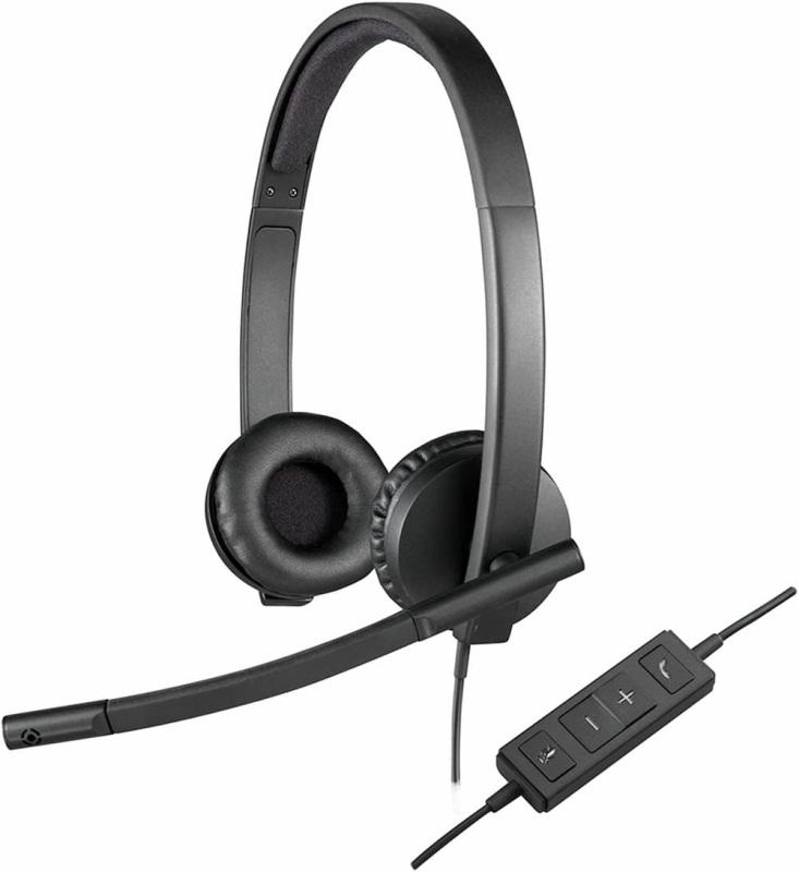 Logitech H570e Wired Black Headset Singapore