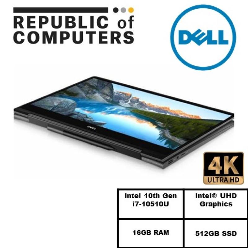 (READY STOCK)DELL Inspiron 13 7300 2in1/7300-10515SGL-UHDT 13.3/I7-10510U/16GB RAM/512GB SSD/WIN 10/TOUCH