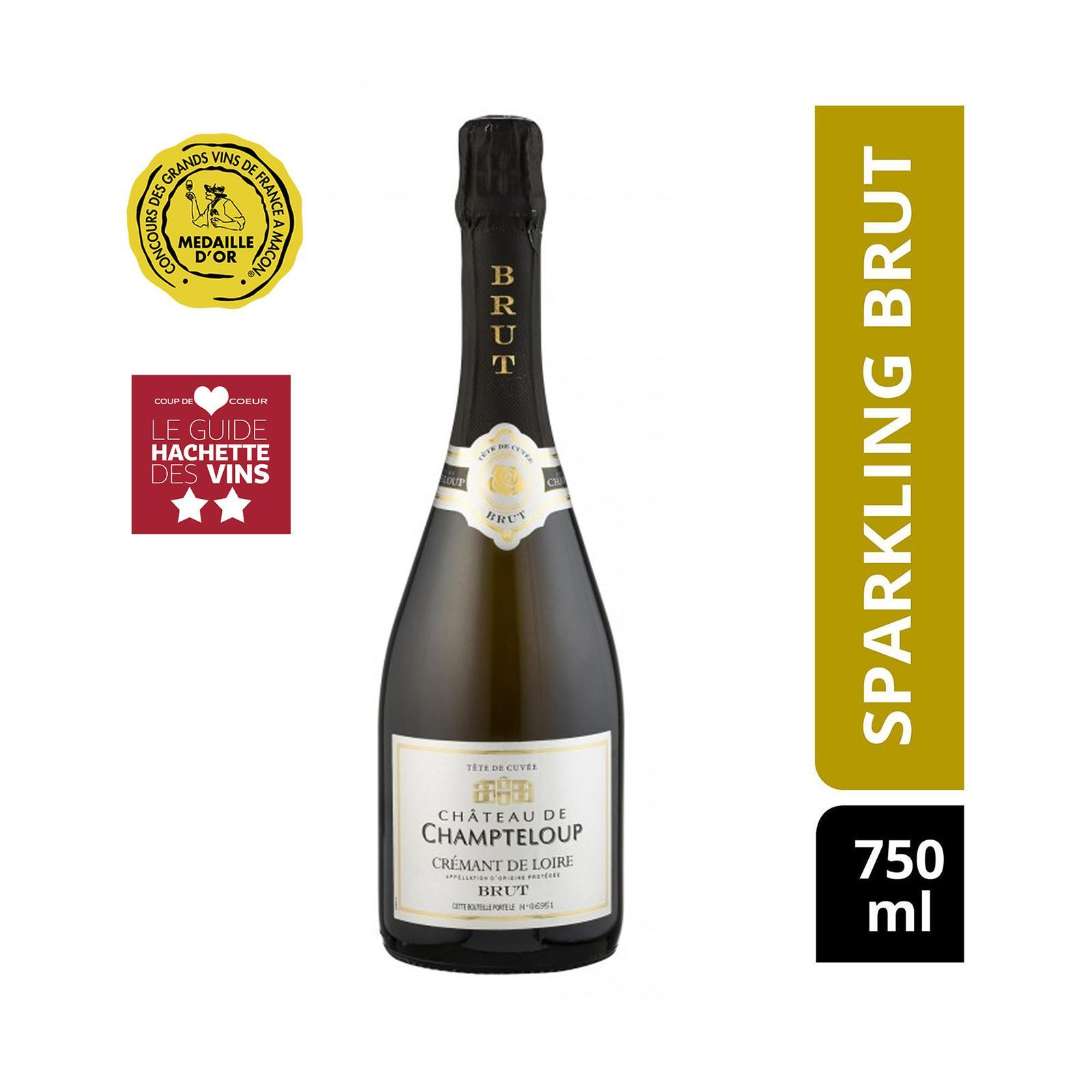 Chateau De Champteloup Sparkling Brut - Cremant De Loire - By The Vintage Wine Club