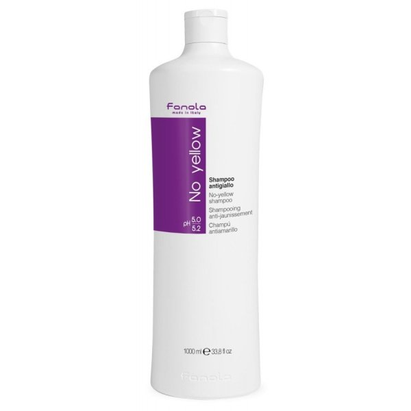 Buy Fanola No Yellow Shampoo for Bleached, Colored Hair - 1000ML Singapore