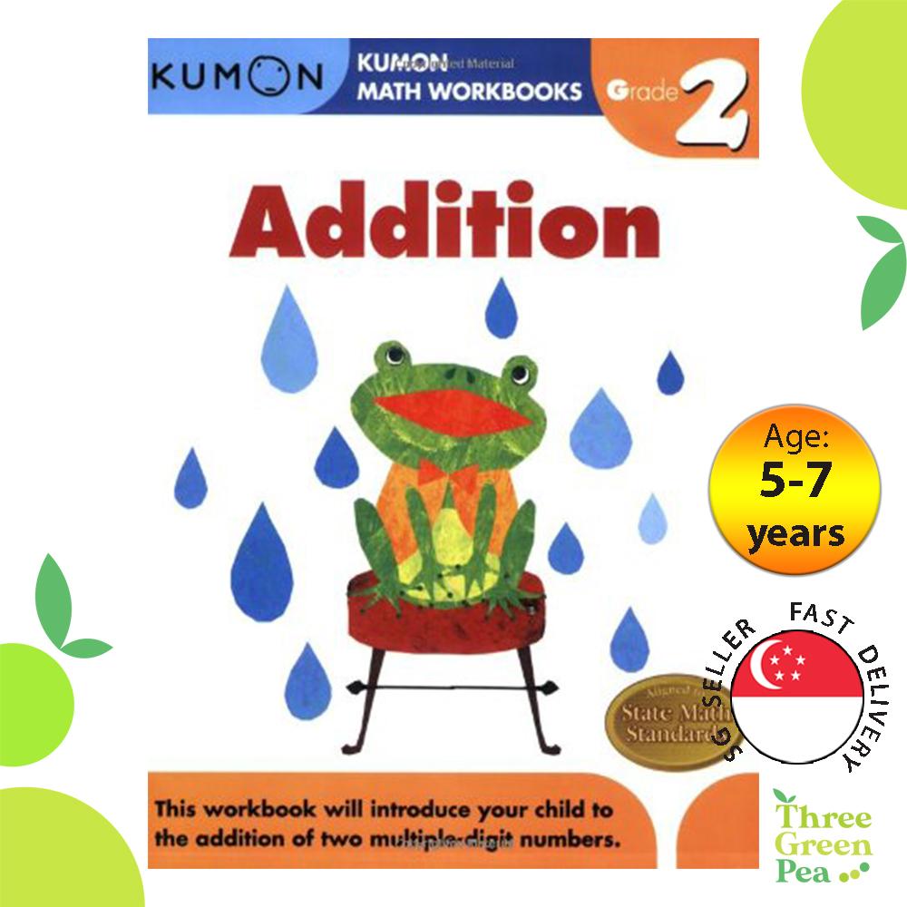 Kumon Math Workbooks Grade 2 ADDITION