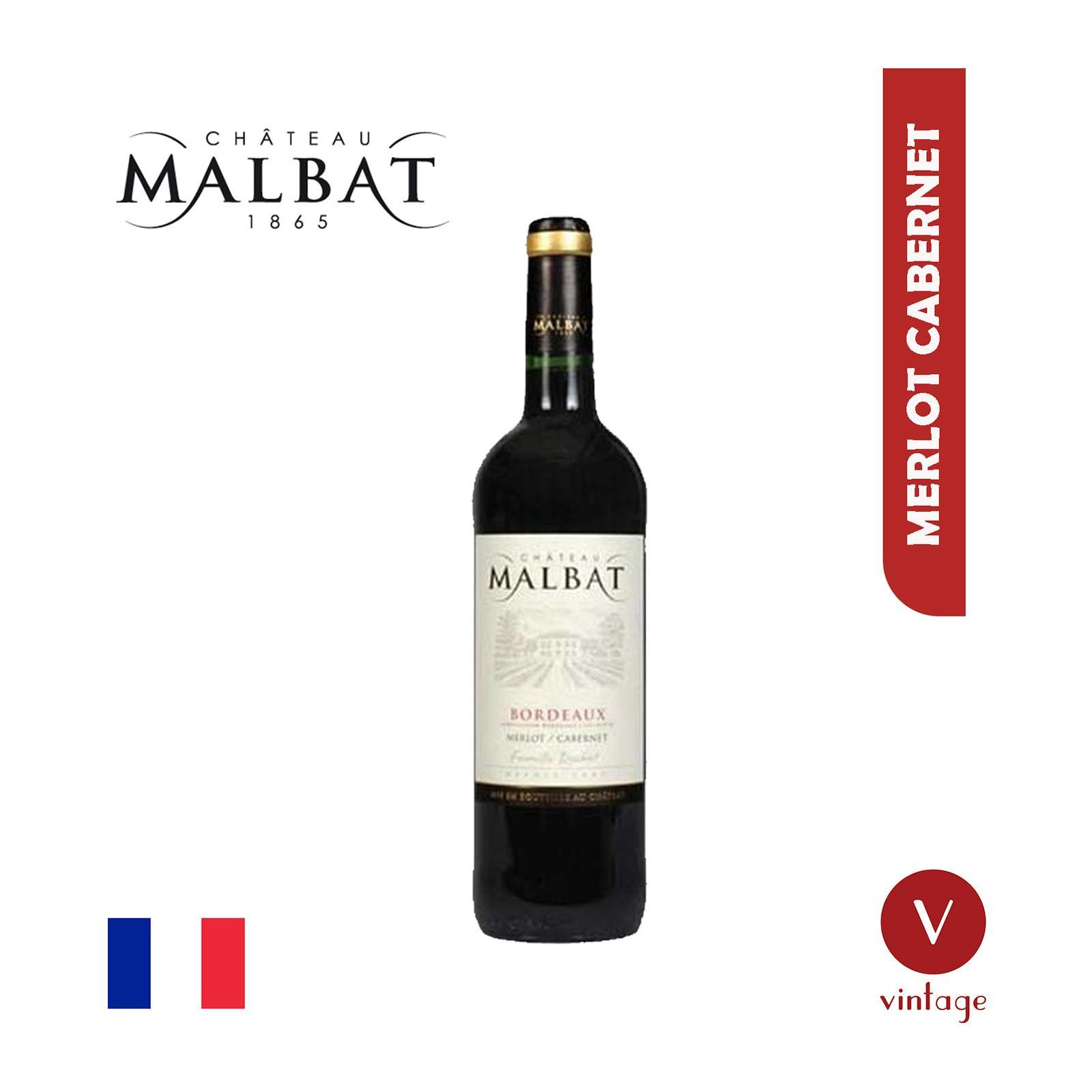 Chateau Malbat - Bordeaux - Merlot and Cabernet - Red Wine - By The Vintage Wine Club