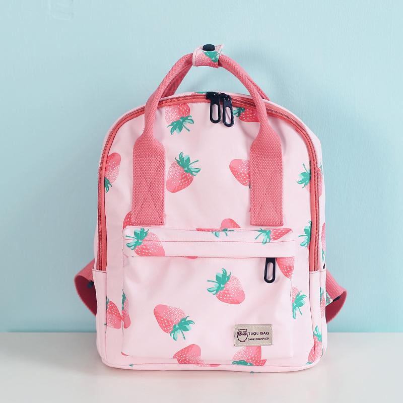 Hipster Cute Small Backpack Students INS New Style School Bag Female Korean Style High School Ulzzang Hand Small Backpack