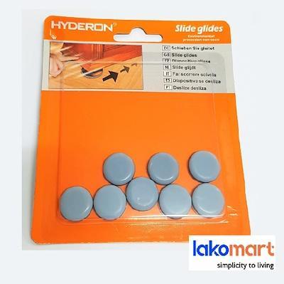 Hyderon Furniture Floor Protector | Easy Round Slider Glider Round