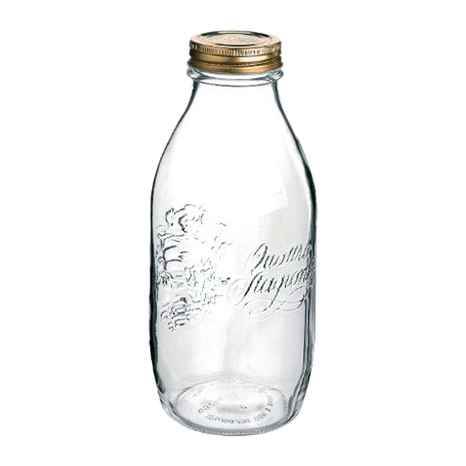 Bormioli Rocco Quattro Bottle 1.0L +56MM LID
