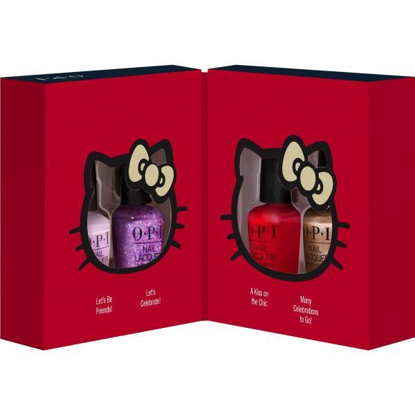 Buy OPI Mini Hello Kitty 4 Piece Set ( 4 x 3.75ml) Singapore