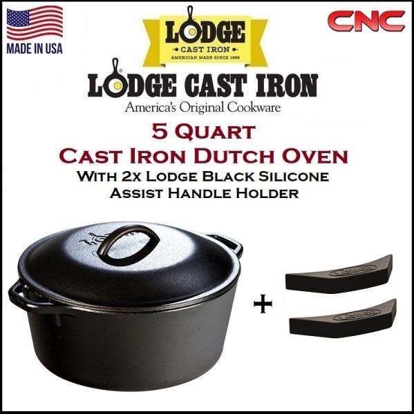 Lodge Cast Iron Dutch Oven 5 Quarts Singapore