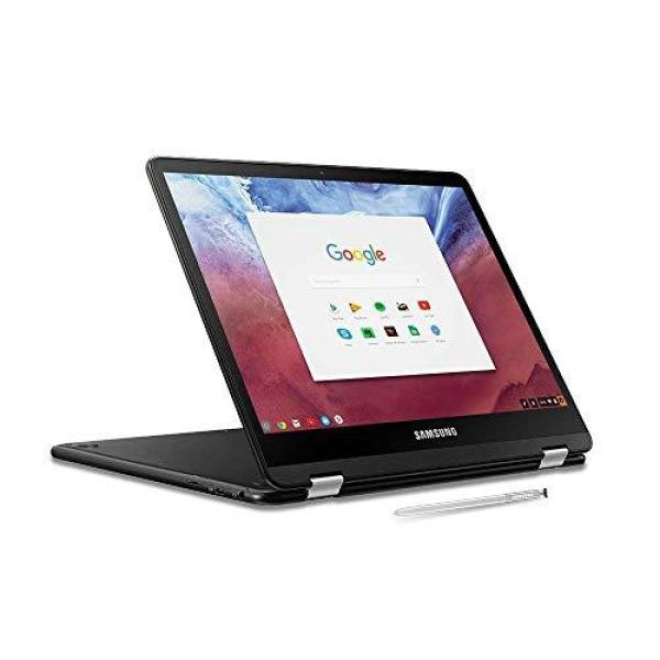 2019 Samsung Chromebook Pro 2-in-1 Convertible Laptop Computer, 12.3 LED Touchscreen, Intel Core M3-6Y30 Up to 2.2GHz, 4GB RAM, 32GB eMMC, 802.11AC WiFi, Built-in Pen, Chrome OS