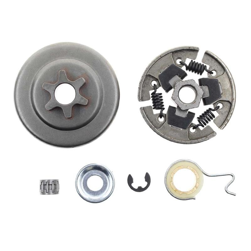 Sprocket Clutch 3/8 Inch For Stihl 017 018 021 023 025 Ms170 Ms180 Ms210  Ms230 Ms250 Chainsaw With Washer E-Clip Kit Replace 1123 640 2003,1123 640