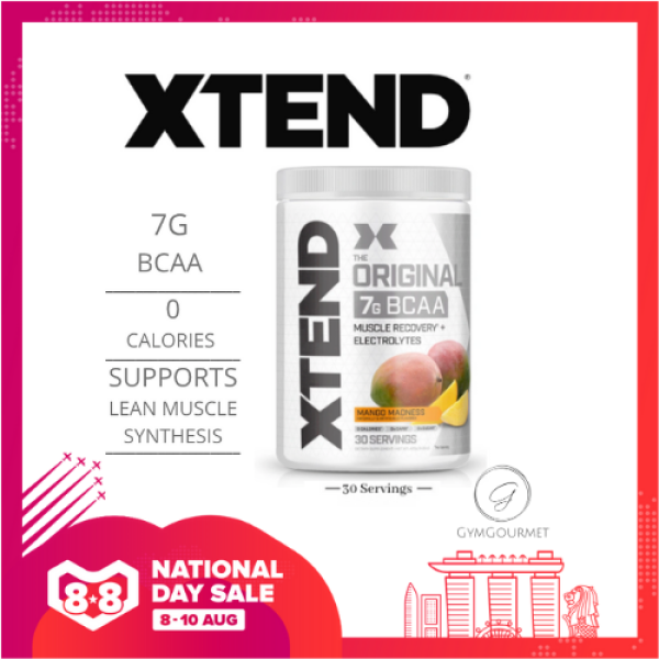 Buy Xtend BCAA; Scivation The Original 7G BCAA-30/90 Servings Singapore