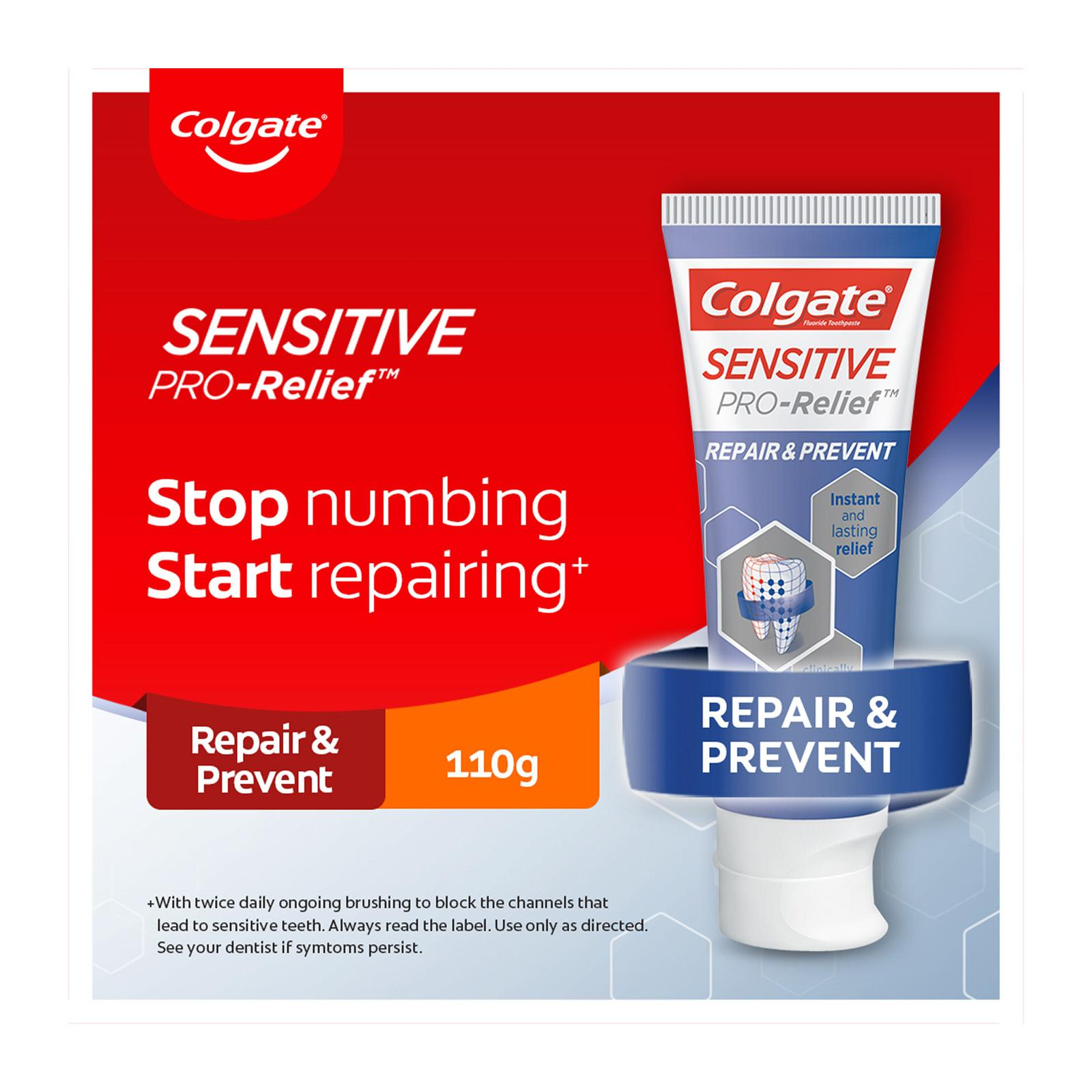 Colgate Sensitive Pro Relief Repair and Prevent Toothpaste 114g