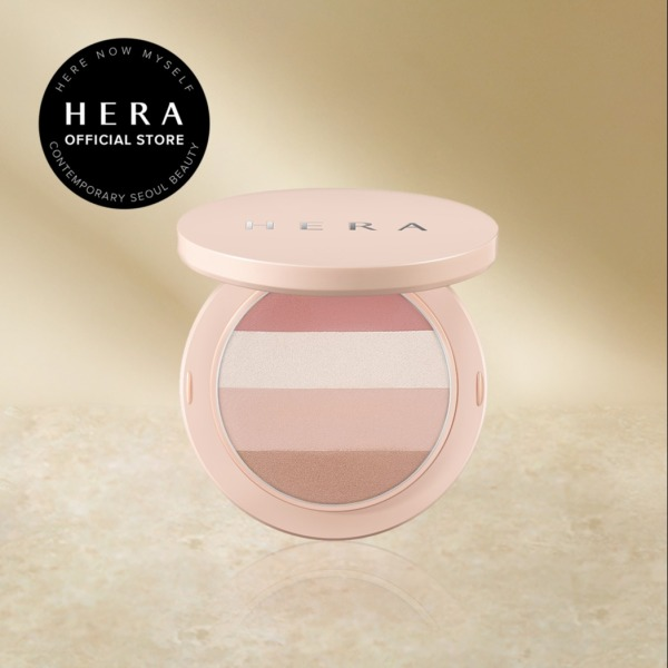 Buy HERA Lingerie Collection Nude Glow Multi-Palette with Mini Brush (01 Lingerie) Rose/Copper Face Multi-use Palette 10g with  Highlighter, Eye Shadow, Bronzer and Blusher Singapore
