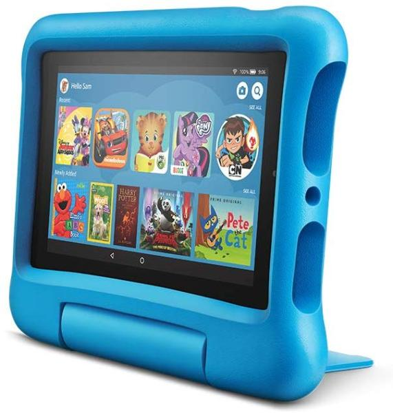 Fire 7 Kids Edition Tablet, 7 Display, 16 GB, Kid-Proof Case