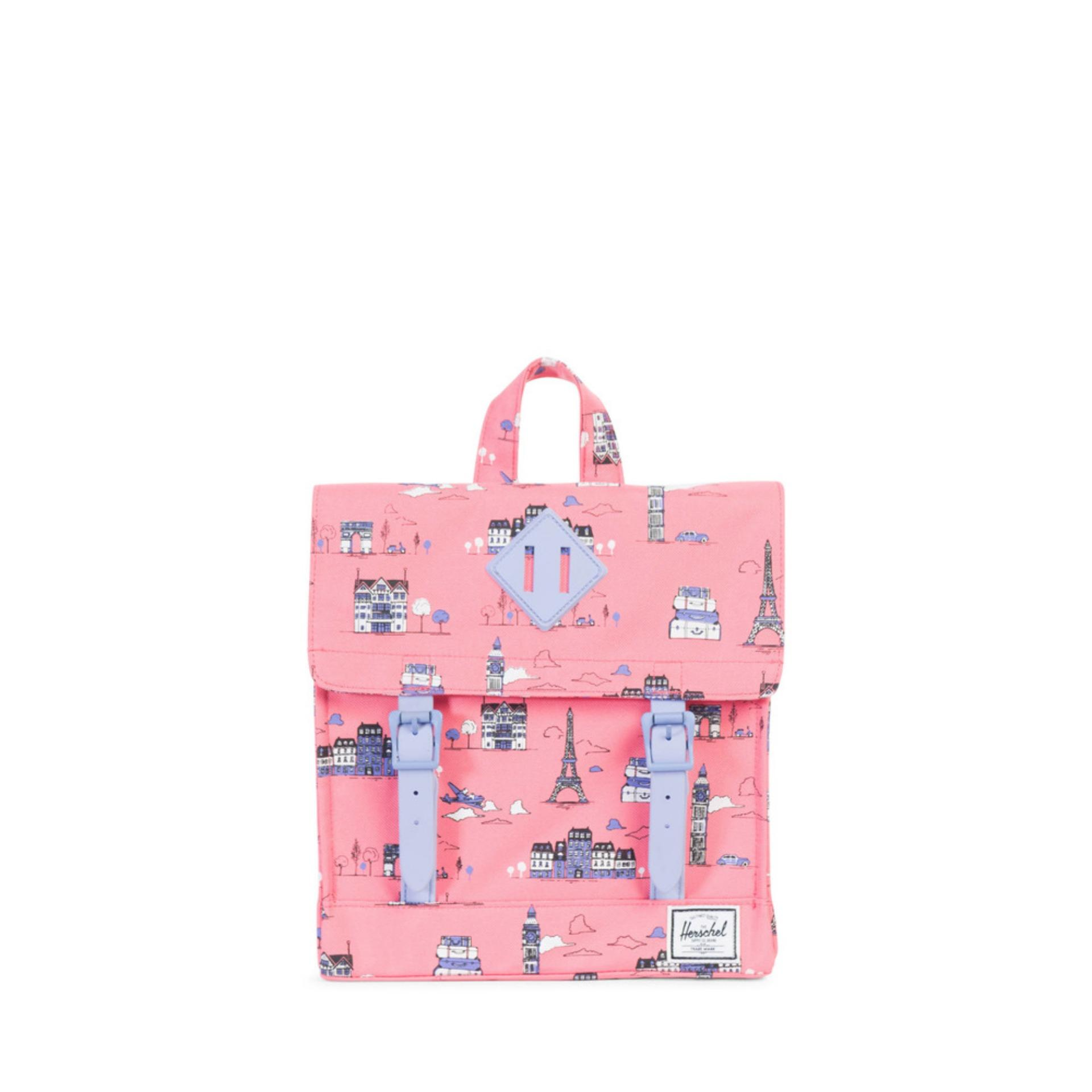 HERSCHEL SURVEY KID - Paris Pink/Deep Periwinkle Rubber