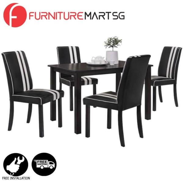 [FurnitureMartSG] Polly Dining Set FREE DELIVERY + FREE INSTALLATION
