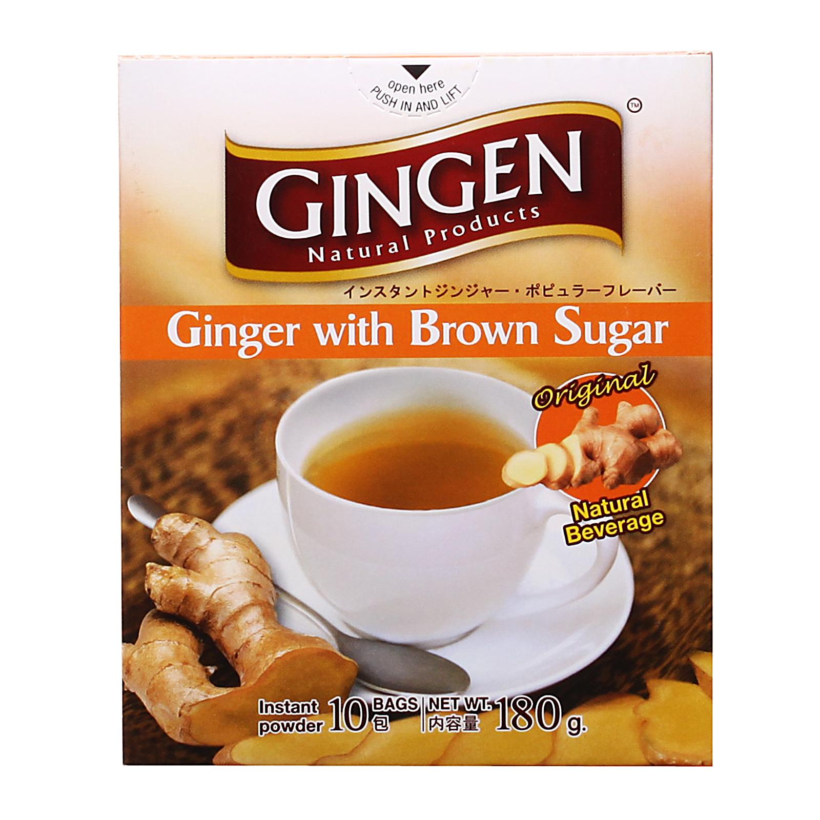Gingen Ginger with Brown Sugar Natural Beverage