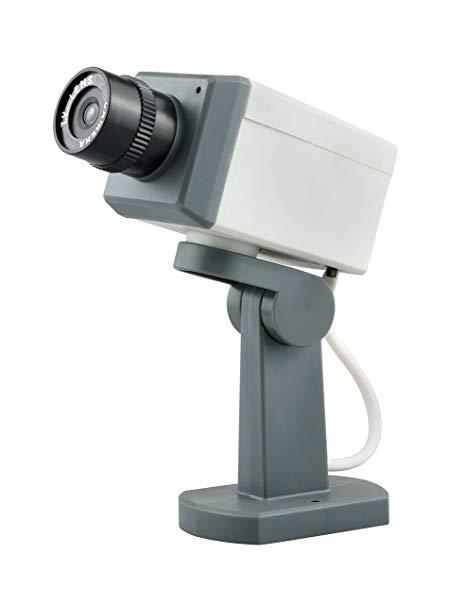 Dummy Security Camera With Motion Detection Sensor (clearance Sale) By Iroyal Pte Ltd.