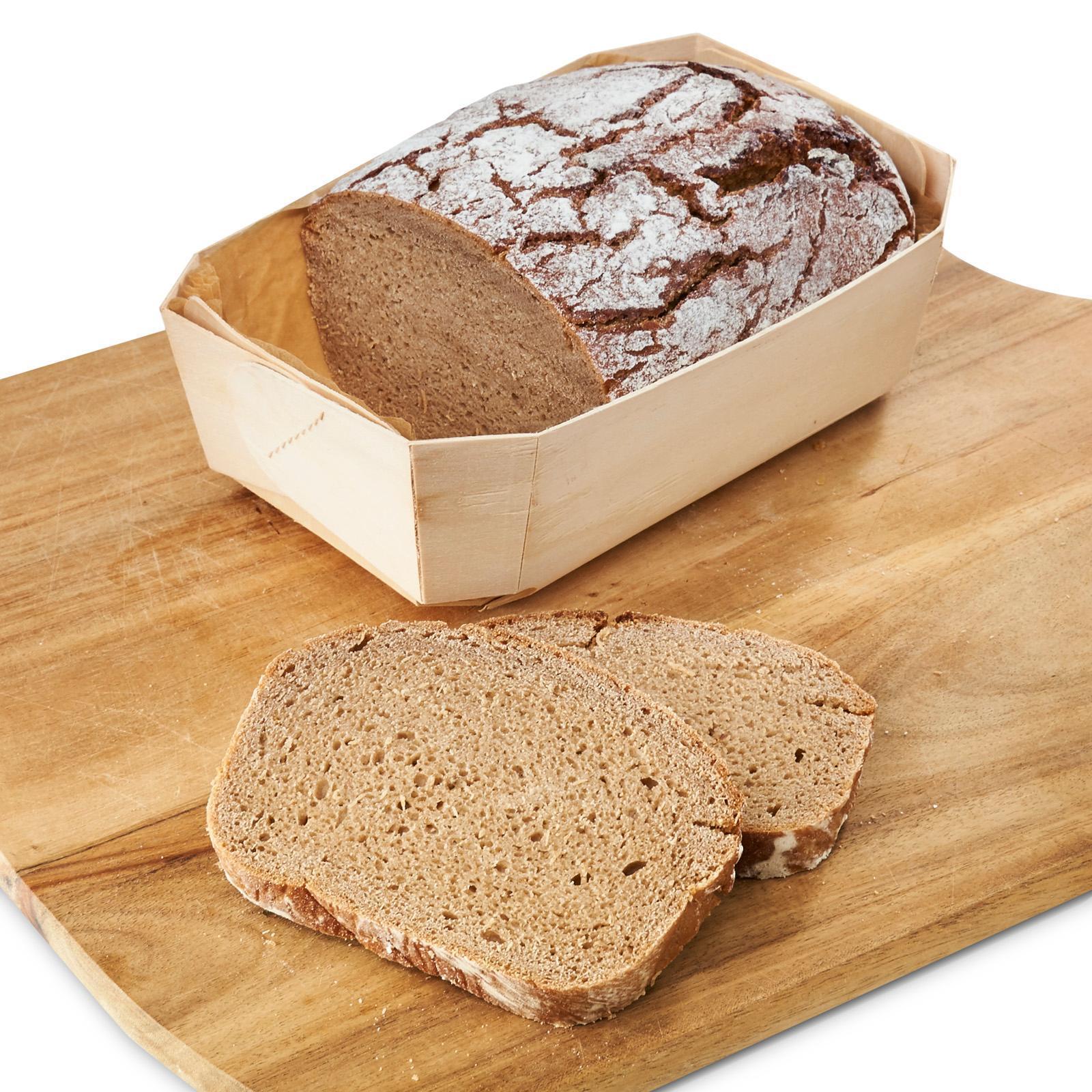 Haubi's Organic Rye Bread - Frozen