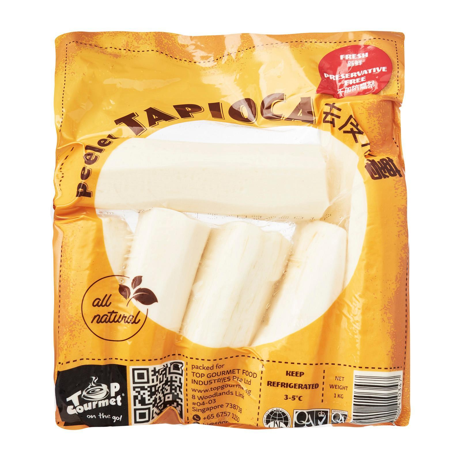 Top Gourmet Peeled Tapioca By Redmart.