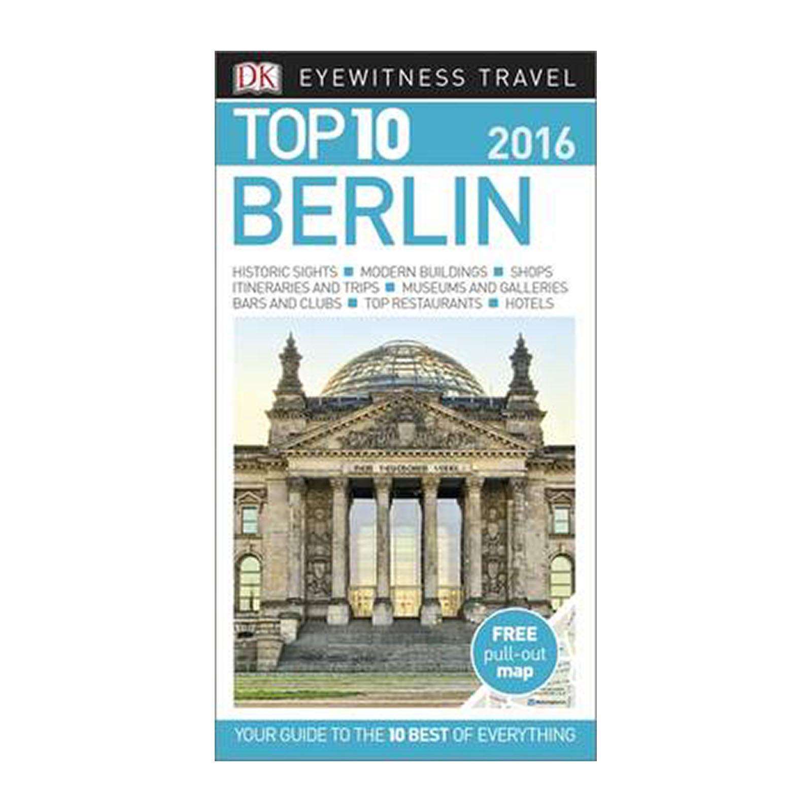 Dk Eyewitness Top 10 Travel Guide: Berlin (Paperback)