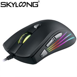 Chuột Skyloong ZUOYA AT962 Có Dây, Đèn LED RGB Quang USB, Chuột Chơi Game Lập Trình 7200DPI Dành Cho Máy Tính thumbnail