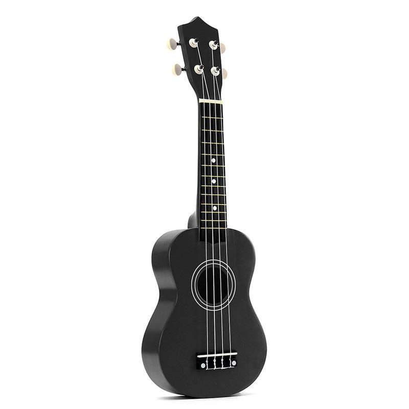 21 inch Soprano Ukulele 4 Strings Hawaiian Guitar Uke + String + Pick For Beginners kid Gift Malaysia