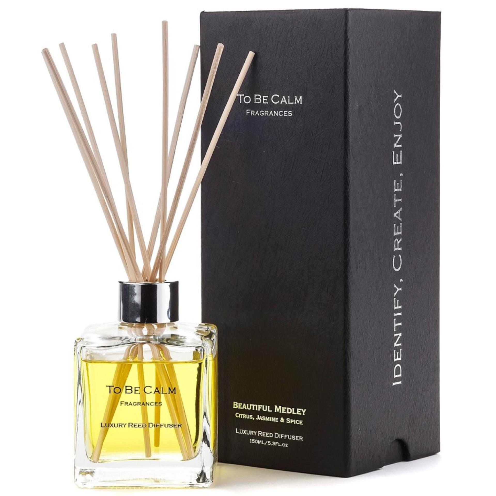 To Be Calm Beautiful Medley - Citrus, Jasmine & Spice -  Reed Diffuser