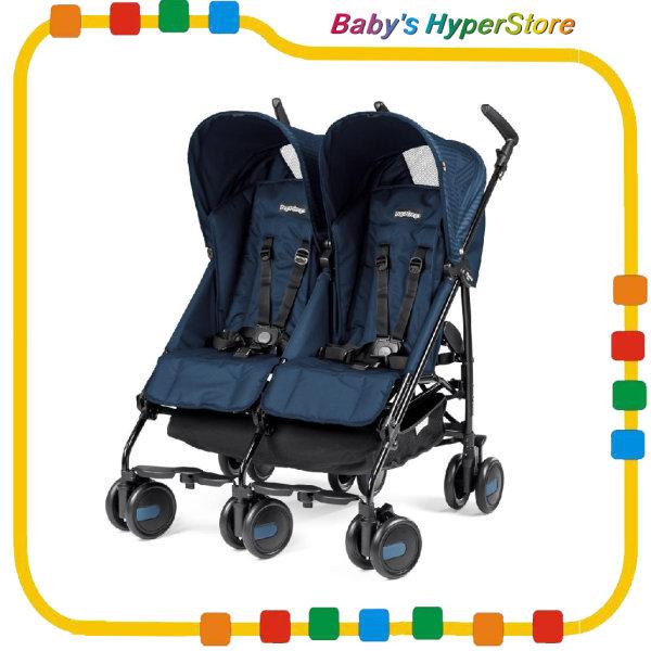 Peg Perego Pliko Mini Twin Baby Stroller (6mth-15kg x 2 +5kg) Singapore