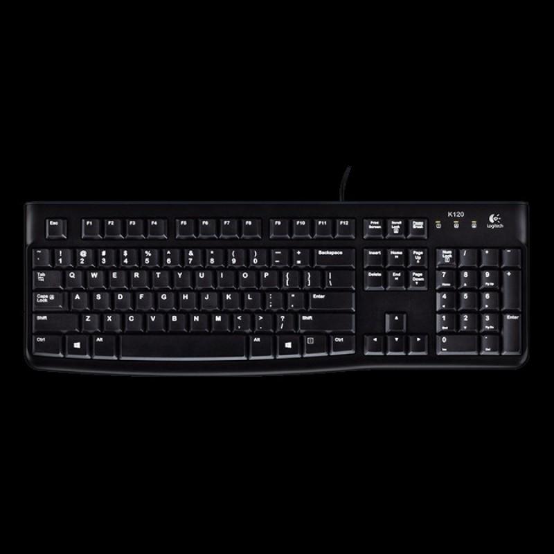 Logitech K120 Usb Black K120 Usb Keyboard Singapore